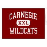 Carnegie - gatos monteses - alto - Carnegie Oklaho Tarjeta