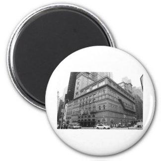 Carnegie Hall 2 Inch Round Magnet