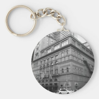 Carnegie Hall Basic Round Button Keychain