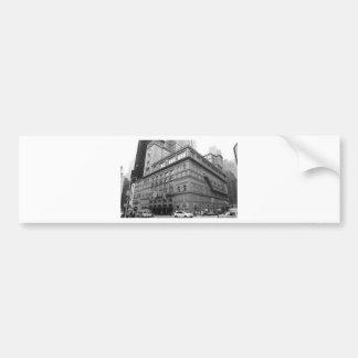 Carnegie Hall Bumper Sticker