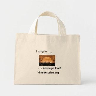 Carnegie Hall Canvas Bag