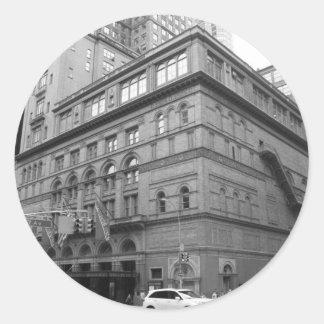 Carnegie Hall Classic Round Sticker
