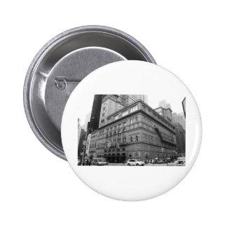 Carnegie Hall Pinback Button