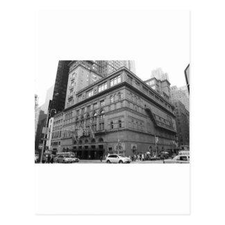 Carnegie Hall Postcard
