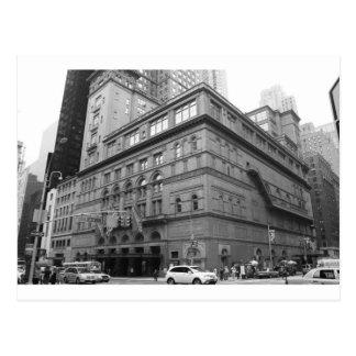 Carnegie Hall Postcards