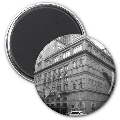 Carnegie Hall Refrigerator Magnet