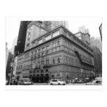 Carnegie Hall Tarjetas Postales