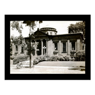 Carnegie Library, Escanaba, Michigan Vintage Postcard