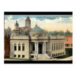 Carnegie Library San Bernardino CA Vintage c1915 Postcard