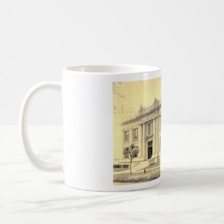 Carnegie Library, State College, Pennsylvania 1909 mug