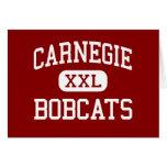 Carnegie - linces - joven - Carnegie Oklahoma Felicitacion