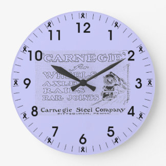Carnegie Steel for Wheels,Rails and Rail Joints Large Clock