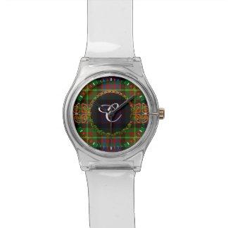 Carnegie Tartan And Monogram Wristwatches