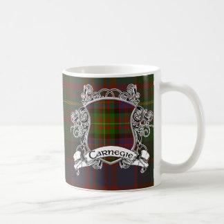 Carnegie Tartan Shield Coffee Mug