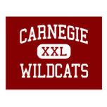 Carnegie - Wildcats - High - Carnegie Oklahoma Postcard
