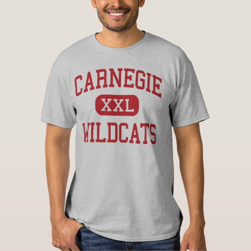 Carnegie - Wildcats - High - Carnegie Oklahoma T Shirt