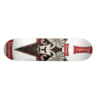 CARNEIRO, marca-subversiva-manchado-01, marca-s... Skateboard Deck