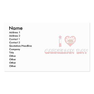 Carnelian Bay CA Business Cards