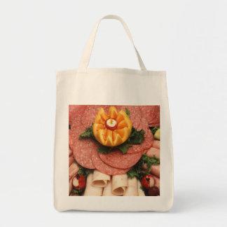Carnes frías clasificadas bolsa tela para la compra