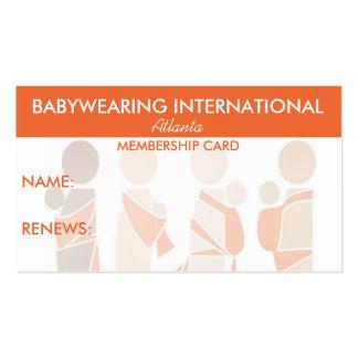 Carnet de socio de BWI Tarjetas De Visita