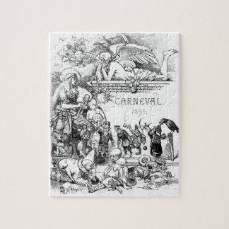 Carneval vintage puzzle