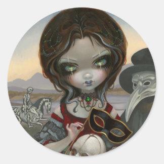 """""""Carnevale di Morte"""" Sticker"""