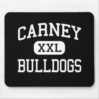 Carney - Bulldogs - High School - Carney Oklahoma Mouse Mat