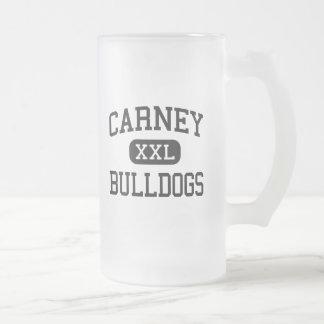 Carney - Bulldogs - High School - Carney Oklahoma Coffee Mug