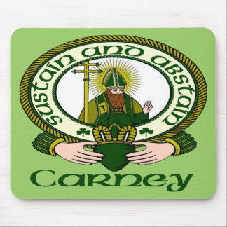 Carney Clan Motto Mouse Pad