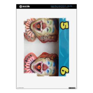 Carney Clowns Decal For iPad 3