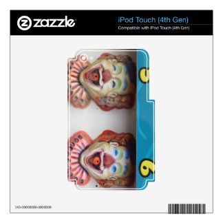 Carney Clowns Decal For iPod Touch 4G