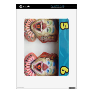Carney Clowns Decals For iPad
