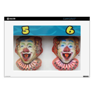 Carney Clowns Decals For Laptops