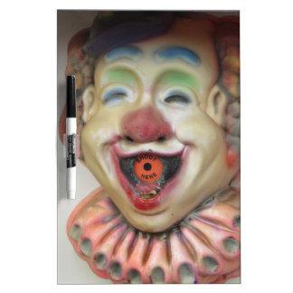 Carney Clowns Dry-Erase Board