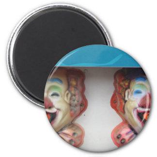 Carney Clowns Magnet