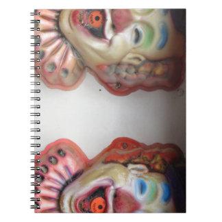 Carney Clowns Notebook