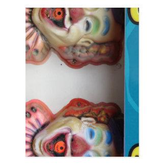 Carney Clowns Postcard