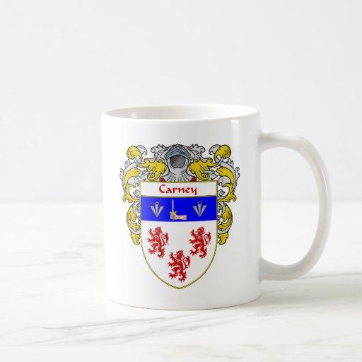 Carney Coat of Arms (Mantled) Coffee Mug
