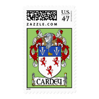 Carney Coat of Arms Postage Stamp