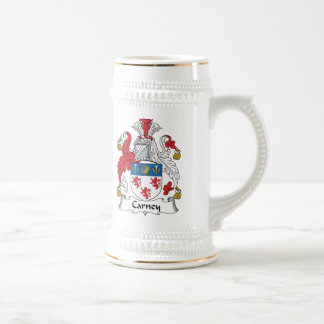Carney Family Crest Beer Stein