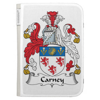Carney Family Crest Kindle 3 Cases