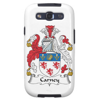 Carney Family Crest Samsung Galaxy SIII Covers