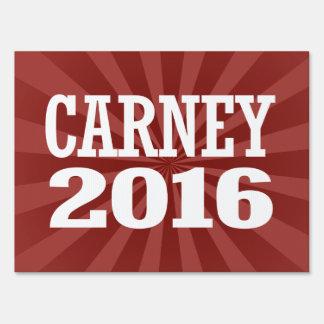 Carney - John Carney 2016 Sign