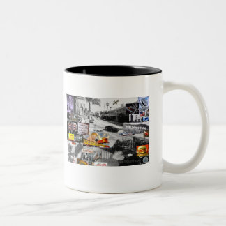 carneyTRAIN.com sunset BLVD Two-Tone Coffee Mug