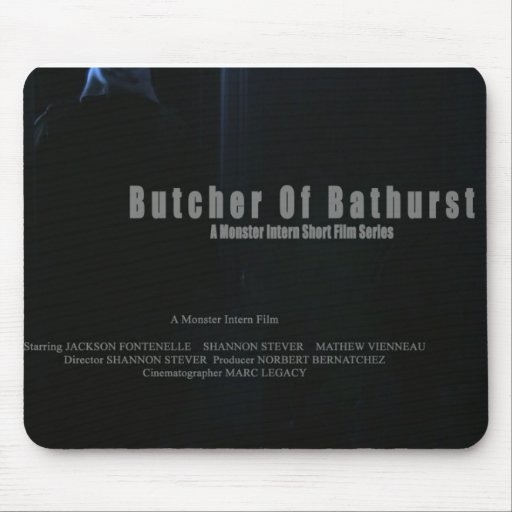 Carnicero de Bathurst Mousepad