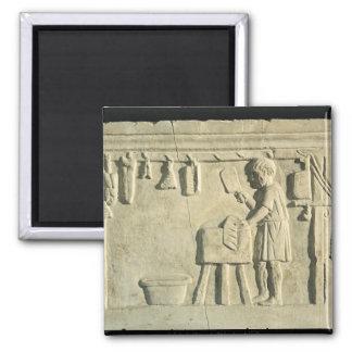 Carnicero romano, alivio imán para frigorifico