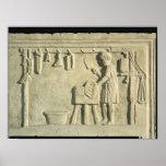 Carnicero romano, alivio póster