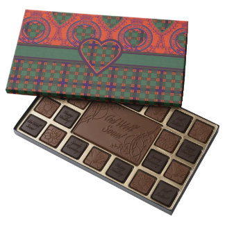 Carnie clan Plaid Scottish kilt tartan Assorted Chocolates