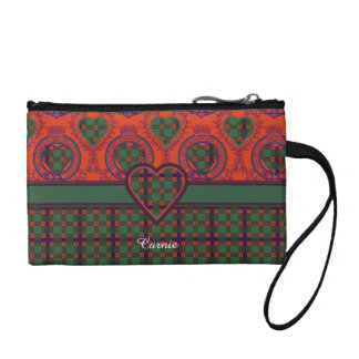 Carnie clan Plaid Scottish kilt tartan Change Purse