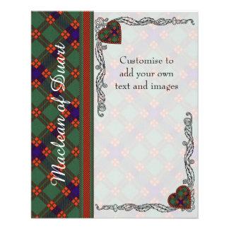 Carnie clan Plaid Scottish kilt tartan Flyer